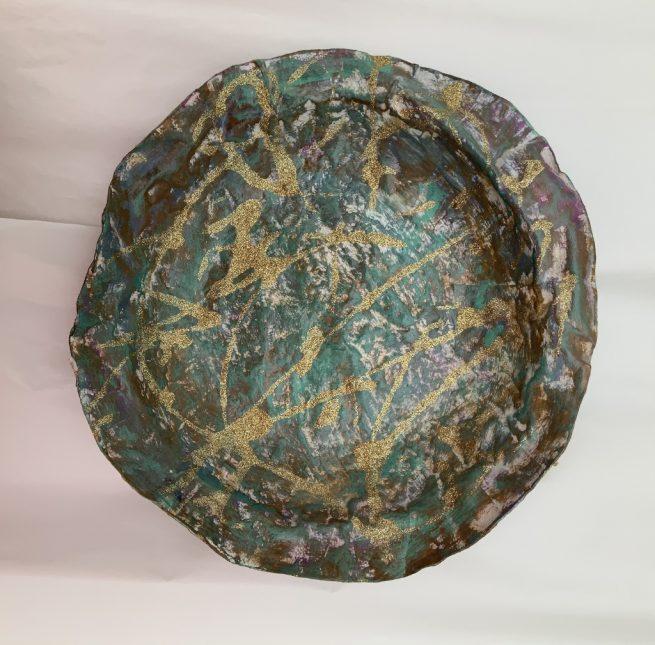 Dish aerial view
