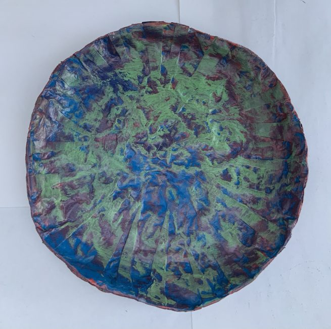Plate aerial view
