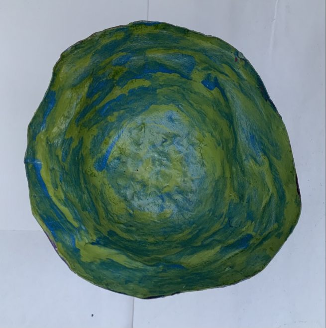 Small bowl aerial view
