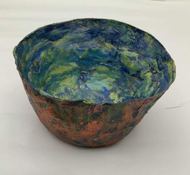 Small bowl side view