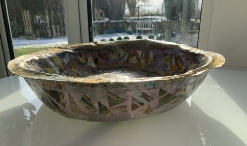 Large bowl side view